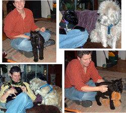 Bezoar joins the family: Kris, Bezoar, Henry